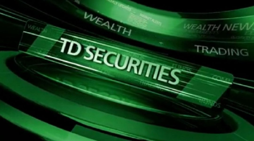 TD Securities says gold sell off will rapidly shift direction