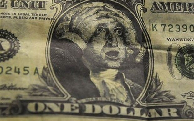 """It is """"inevitable"""" that the value of the dollar will be destroyed says senior economist"""
