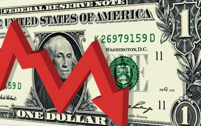 Dollar on the decline as yields fall – good news for gold